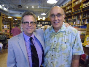 With Author Rob Simbeck