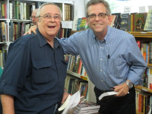 Me and Dewey Lambdin at Sisters-in-Crime