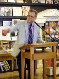Signing RESURRECTION BAY at Parnassus Books